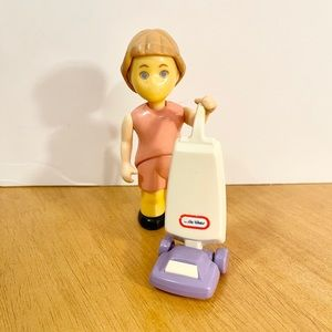 Little Tikes Dollhouse Girl and Vacuum